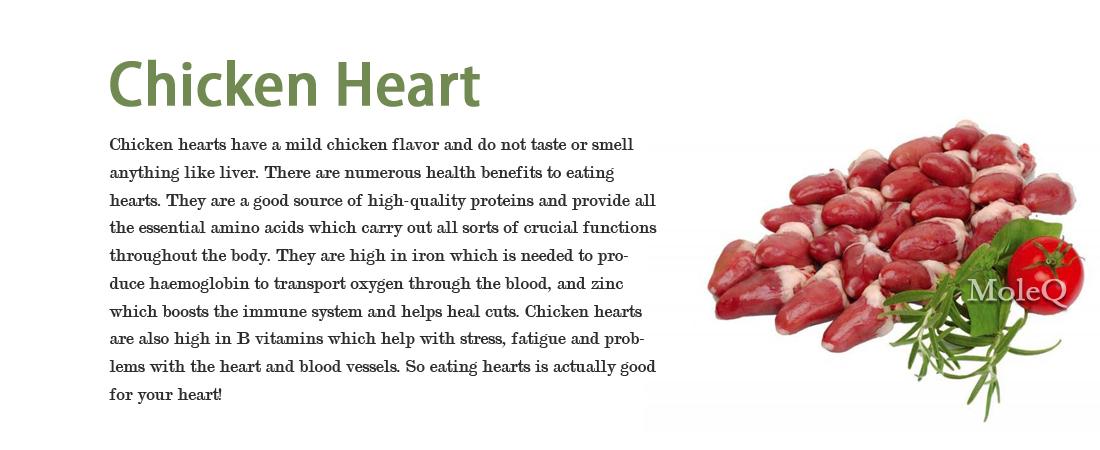 Chicken Heart Moleq Inc Food Information